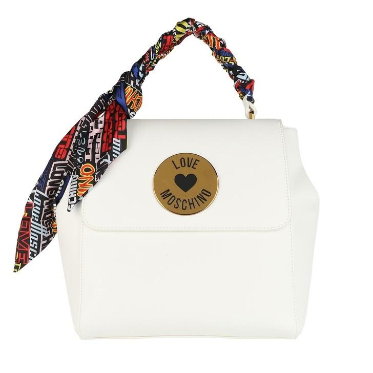 bags, Love Moschino, Borsa Pu Bianco