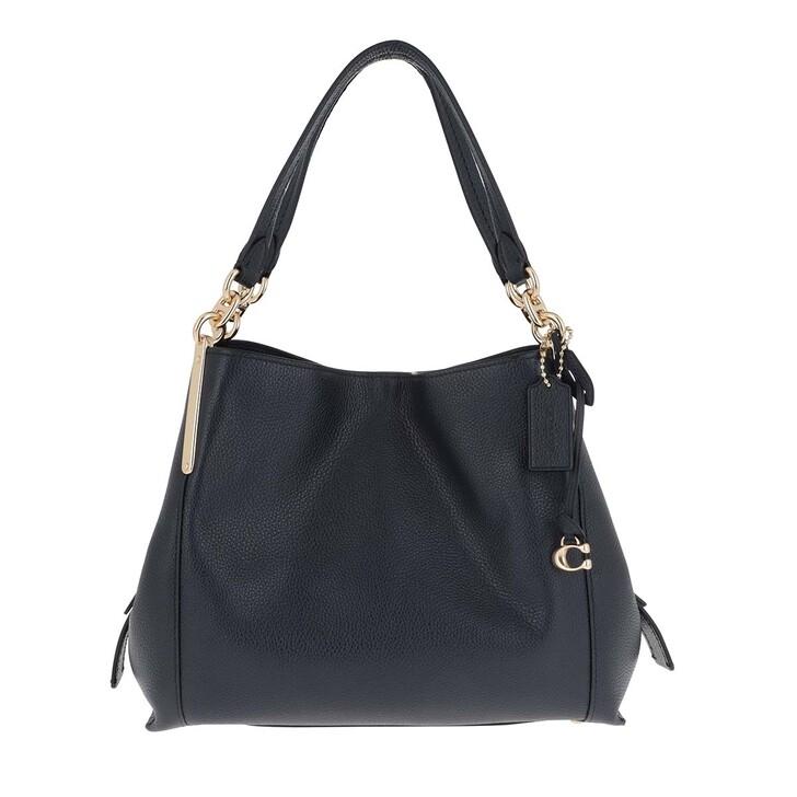 Handtasche, Coach, Pebble Dalton Satchel Bag Blue