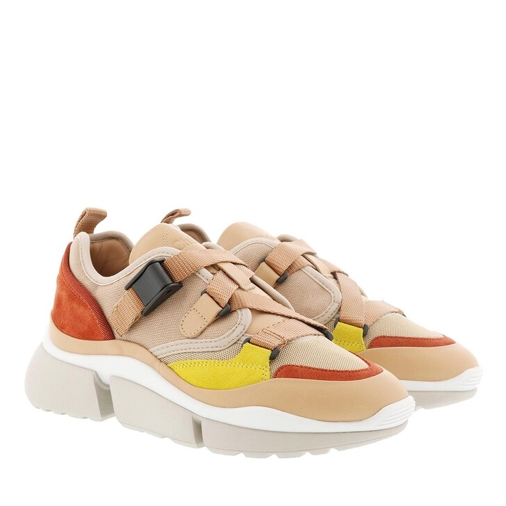 Schuh, Chloé, Sonnie Low Top Sneaker Maple Pink