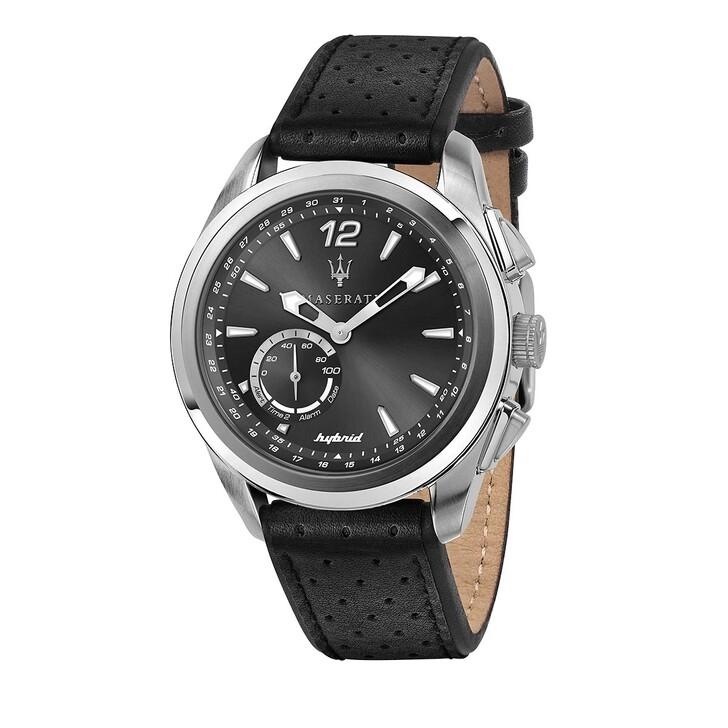 Uhr, Maserati, Traguardo 45mm Hybrid black