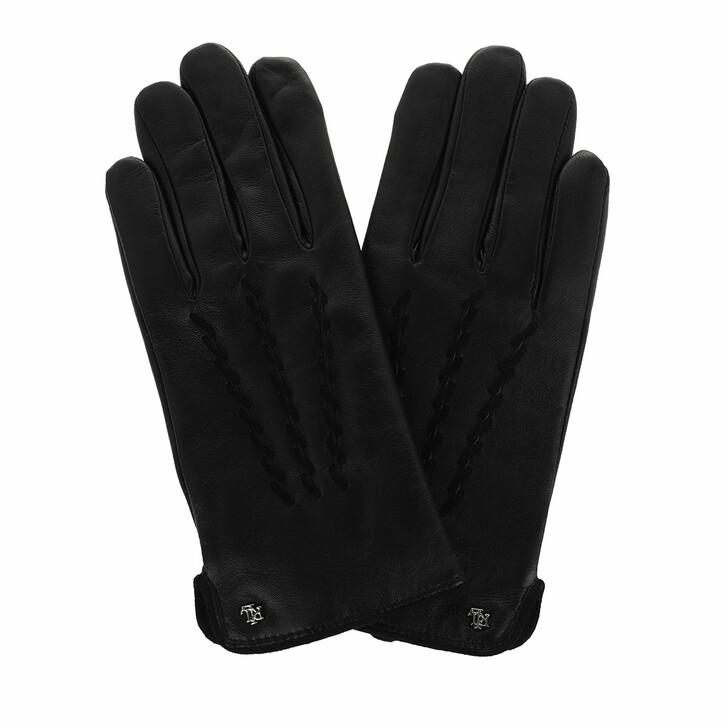 Handschuh, Lauren Ralph Lauren, Glove Leather Black