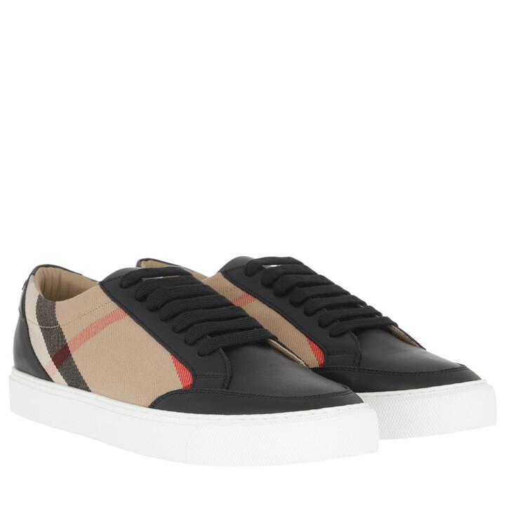 Schuh, Burberry, Logo Sneaker Black