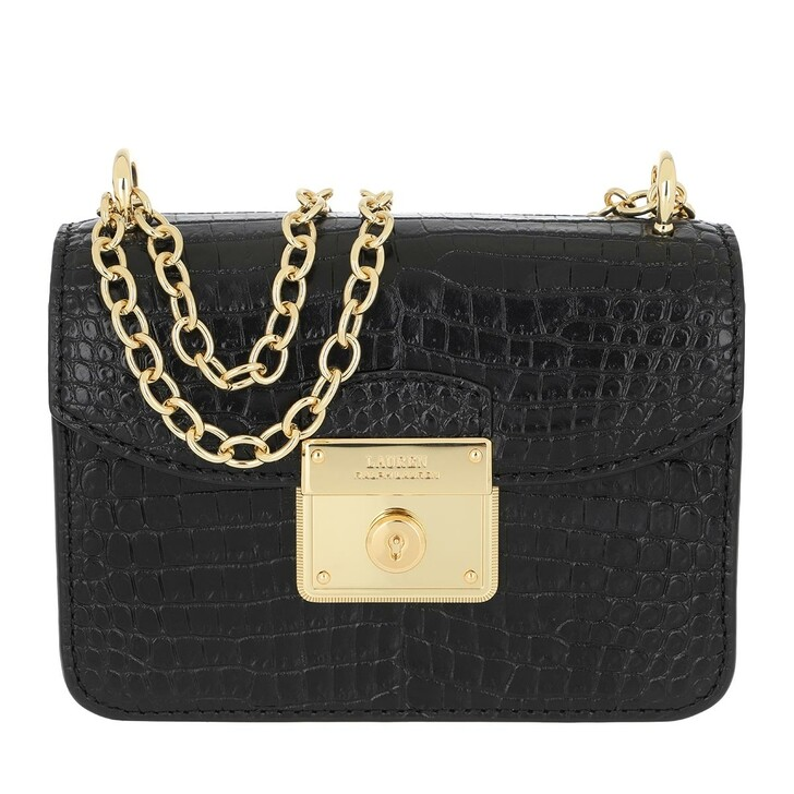 Handtasche, Lauren Ralph Lauren, Beckett Crossbody Mini Black