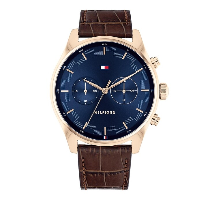 Uhr, Tommy Hilfiger, Wrist Watch Brown