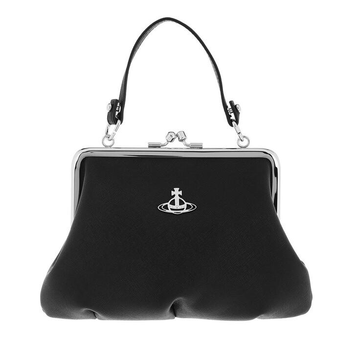 bags, Vivienne Westwood, Derby Frame Purse Black