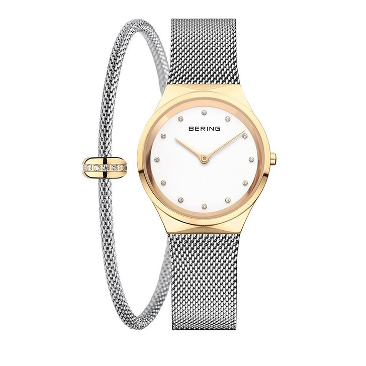watches, Bering, Watch/Classic/Set Silver