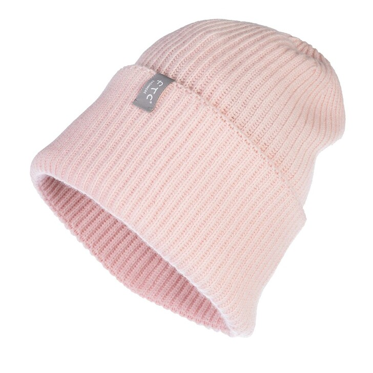 hats, FTC Cashmere, Beanie Pink Pearl