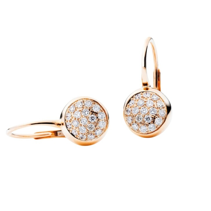 Ohrring, Capolavoro, Earrings Dolcini Rosegold