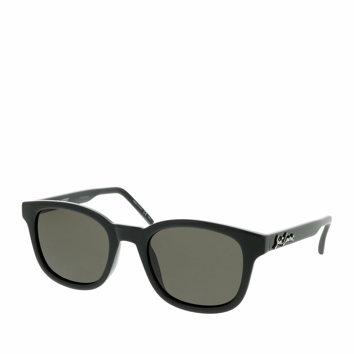 Sonnenbrille, Saint Laurent, SL 406-001 51 Sunglass MAN INJECTION Black