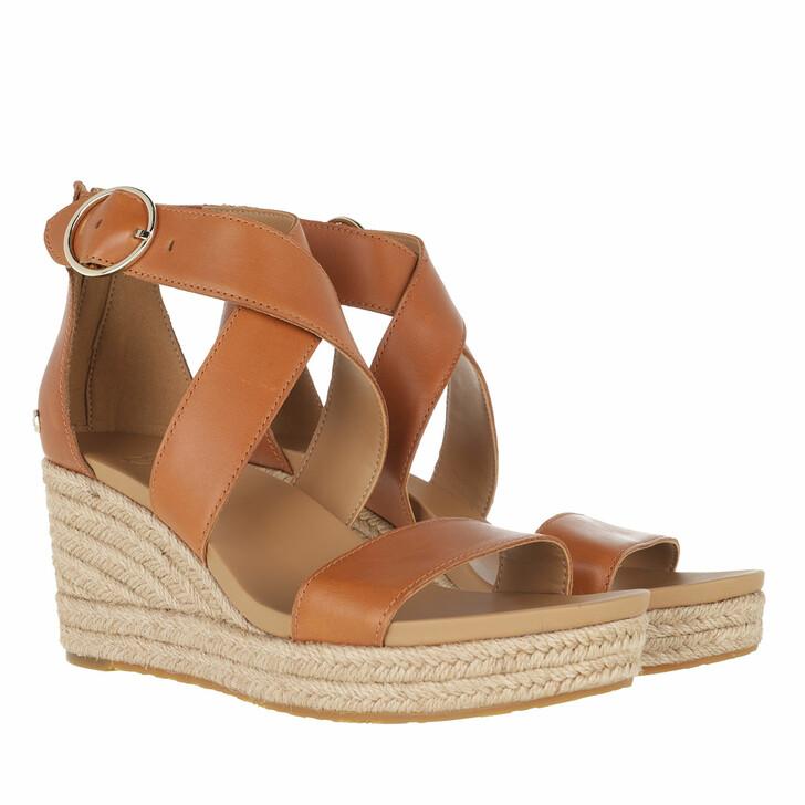 shoes, UGG, Hylda Sandal Leather Tan