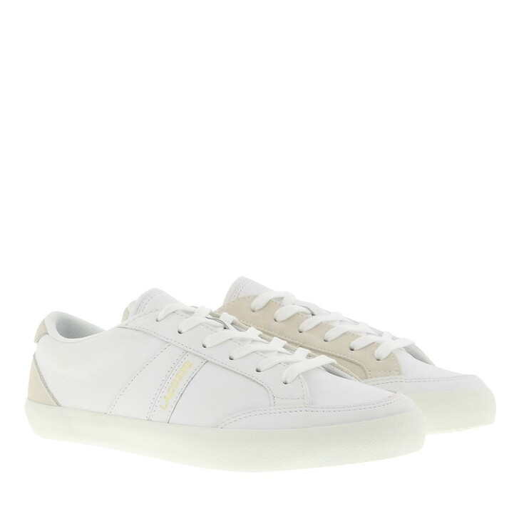 Schuh, Lacoste, Coupole Sneaker Shoes White/Off White