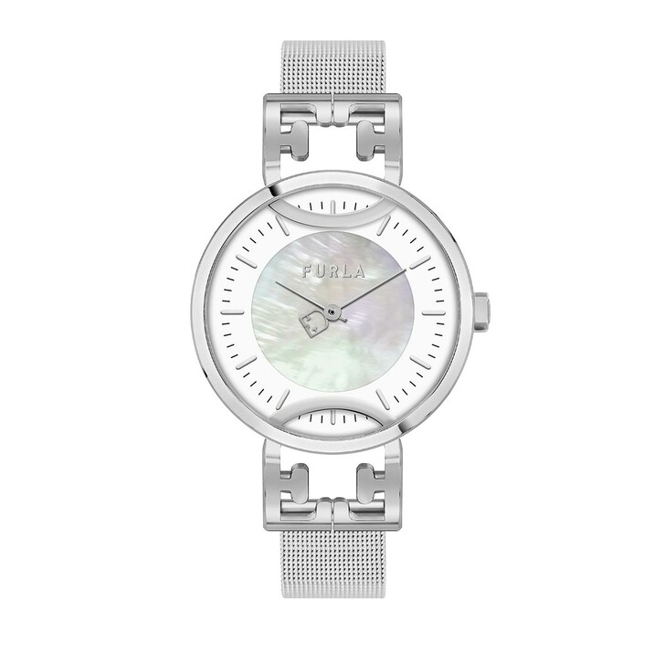 Uhr, Furla, Watch Corona Mesh Silver