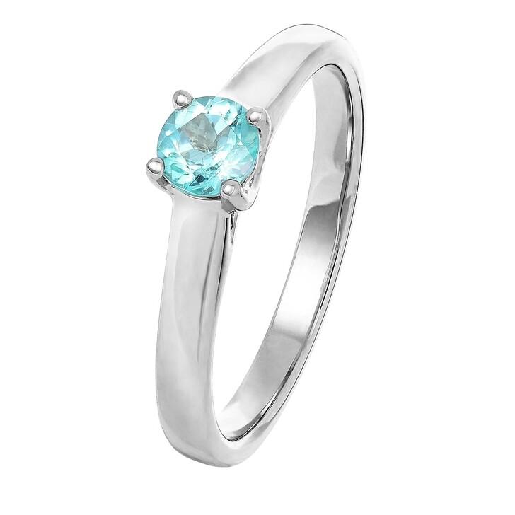 rings, VOLARE, Ring 1 Paraiba Turmalin ca. 0,40 Platinum