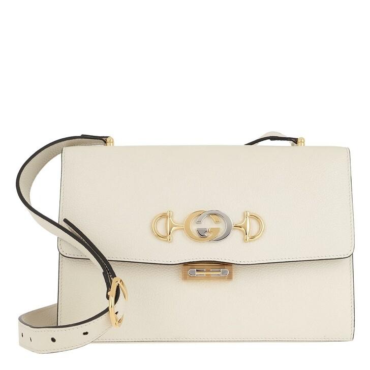 Handtasche, Gucci, Zumi Shoulder Bag Small Leather Plain
