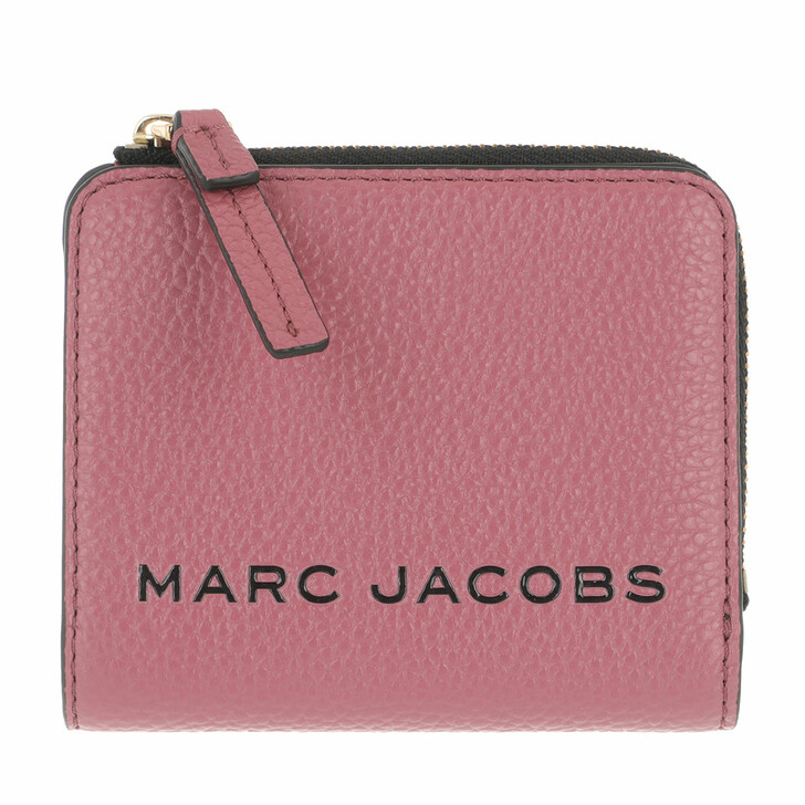 Geldbörse, Marc Jacobs, The Bold Mini Compact Wallet Dusty Ruby