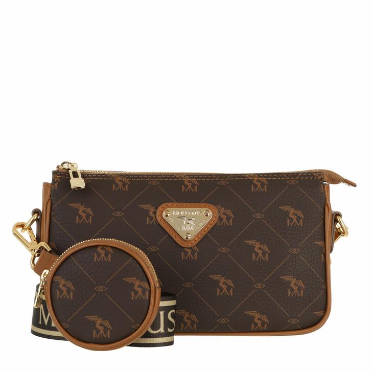 bags, Maison Mollerus, Zell Pocketbag Crossbody Soft Braun
