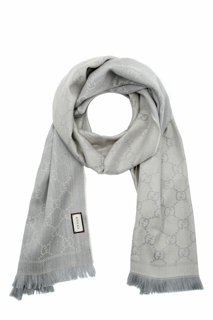 scarves, Gucci, Scarf Sten Grigio