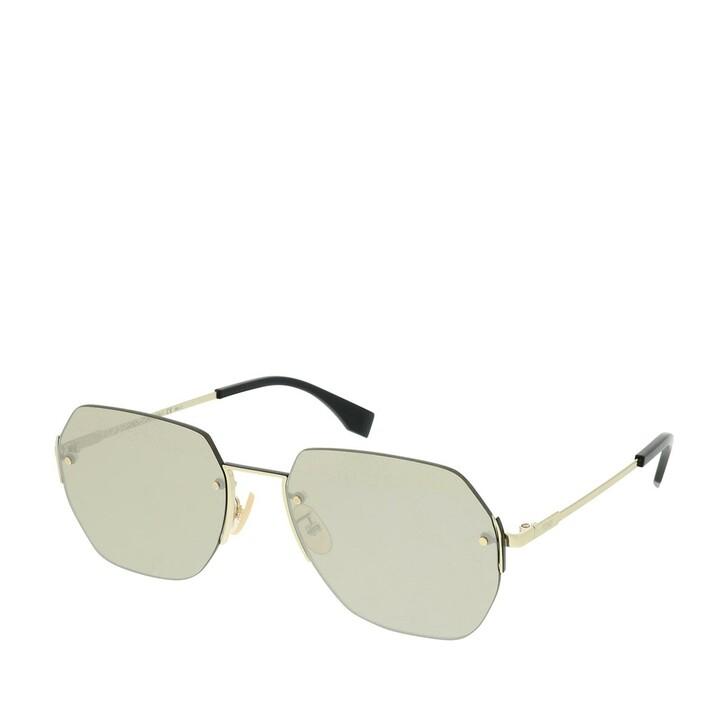 Sonnenbrille, Fendi, FF M0067/F/S Gold