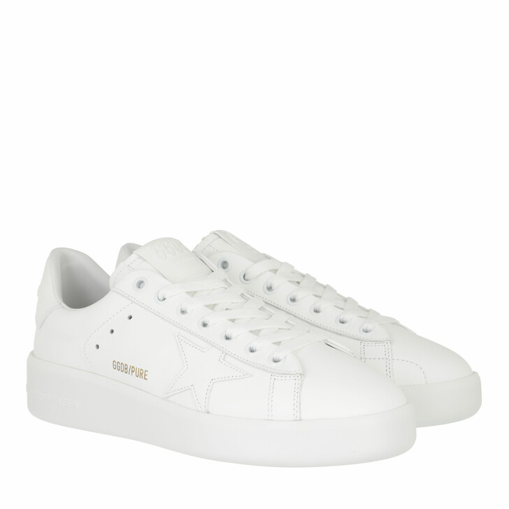 shoes, Golden Goose, Purestar Low Sneakers Optic White