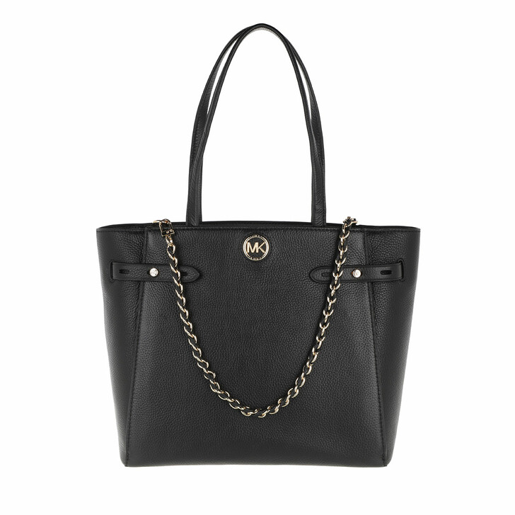 Handtasche, MICHAEL Michael Kors, Large Belted Tote  Leather Black