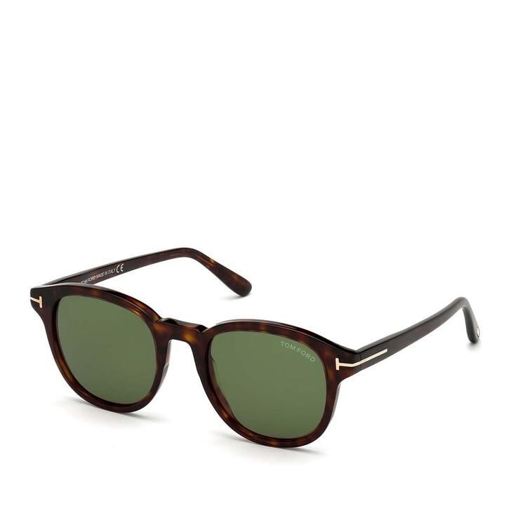 Sonnenbrille, Tom Ford, Men Sunglasses FT0752 Havanna/Green