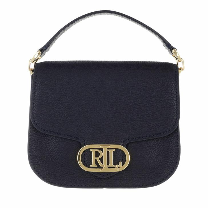 bags, Lauren Ralph Lauren, Addie 19 Crossbody Small Lauren Navy/Snow White/Antibes Green