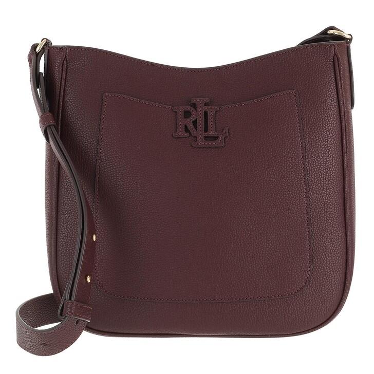 bags, Ralph Lauren, Cameryn 29 Crossbody Medium Bordeaux