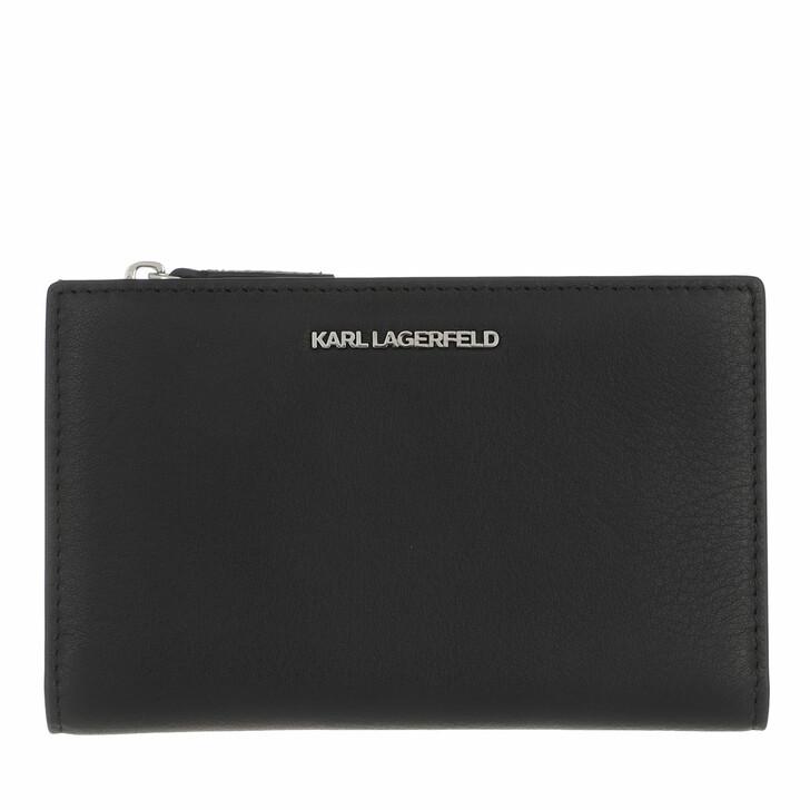 Smartphone/Tablet case (Case), Karl Lagerfeld, Ikon Folded Card Case Black