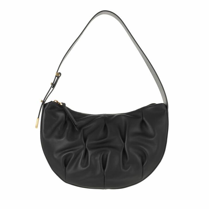 Handtasche, Coccinelle, Handbag Smooth Calf Leather Soft  Noir