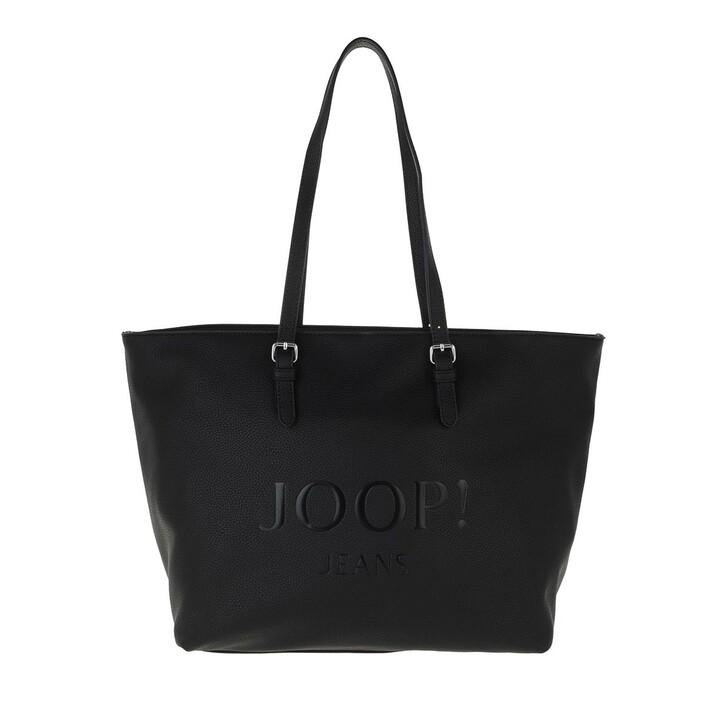 Handtasche, JOOP!, Lettera Lara Shopper Black