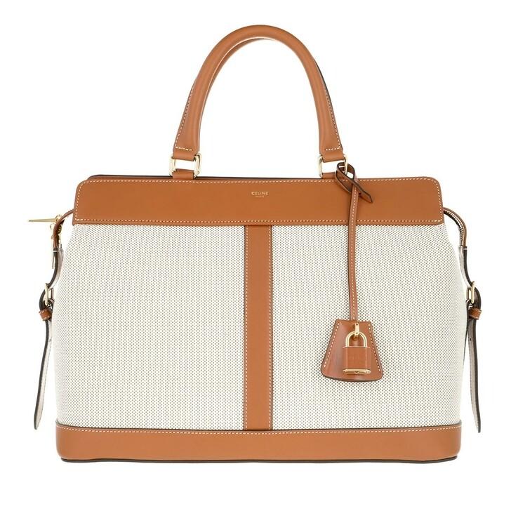 Handtasche, Celine, Cabas De France Satchel Bag Natural Tan