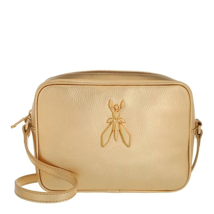 bags, Patrizia Pepe, Crossbody Bag Gold Star