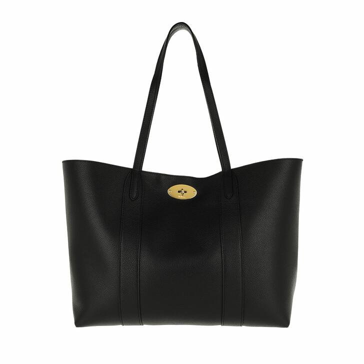 Handtasche, Mulberry, Baywater Tote Small Leather Black