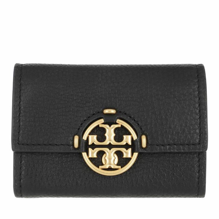 Geldbörse, Tory Burch, Miller Mini Wallet Black