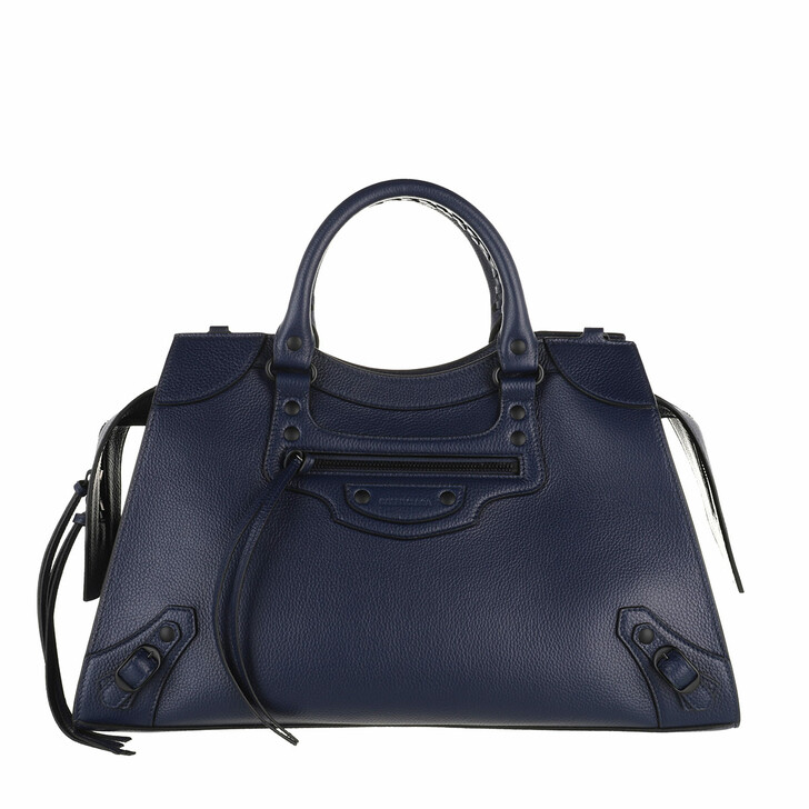 bags, Balenciaga, Neo Classic Tote Bag Leather Navy