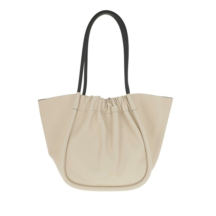 Handtasche, Proenza Schouler, XL Ruched Tote Bag Calfskin Clay