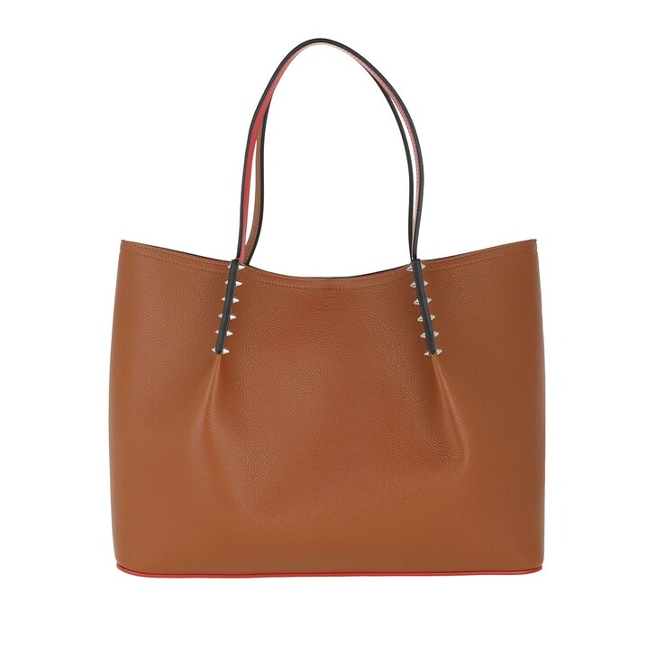 Handtasche, Christian Louboutin, Cabarock Large Tote Bag Coconut