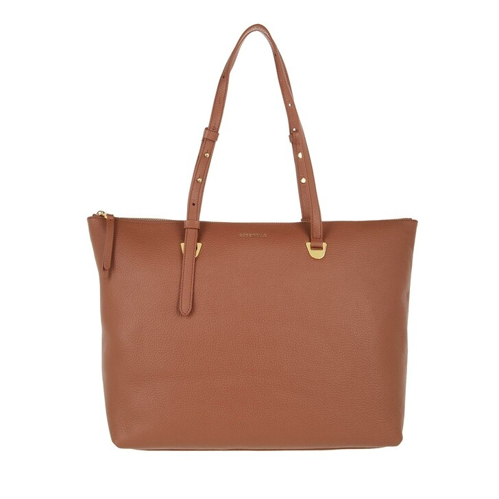 bags, Coccinelle, Lea Handbag Grained Leather  Cinnamon