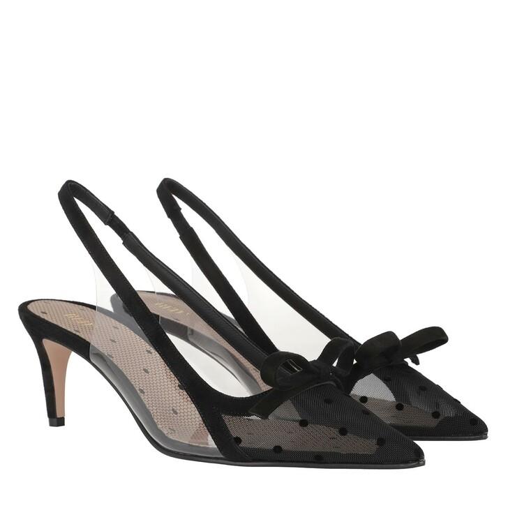 Schuh, Red Valentino, Pump Black/Transparent