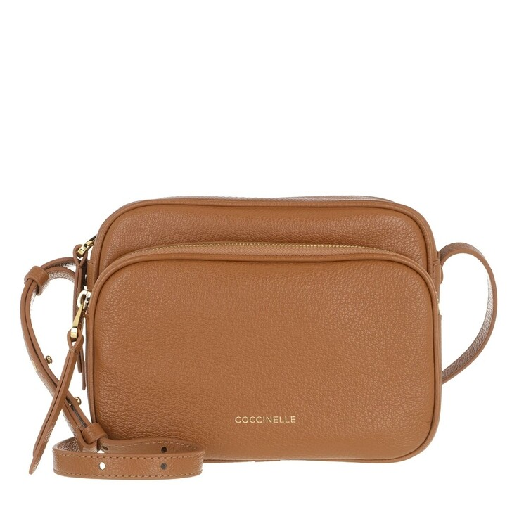 Handtasche, Coccinelle, Lea Crossbody Bag Caramel