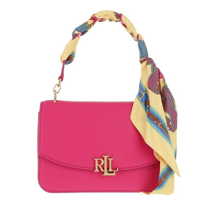 Handtasche, Lauren Ralph Lauren, Madison 22 Crossbody Medium Nv Brgt Pk/Eqst Blt Bch Ylw