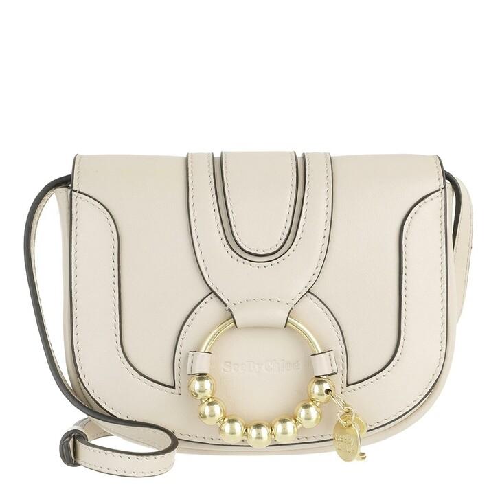 Handtasche, See By Chloé, Hana Mini Shoulder Bag Leather Cement Beige