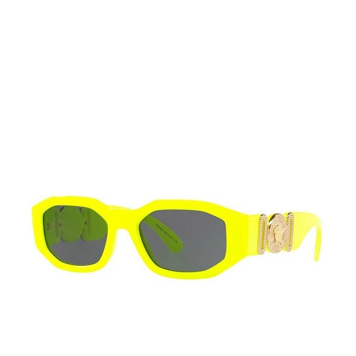 sunglasses, Versace, Unisex Sunglasses Rock Icons 0VE4361 Yellow Fluo