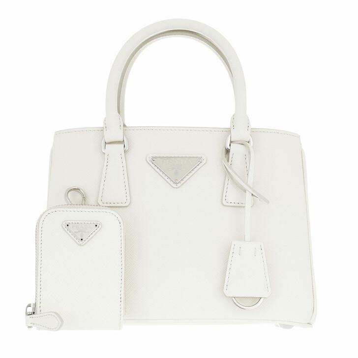 bags, Prada, Mini Galleria Tote Bag Leather