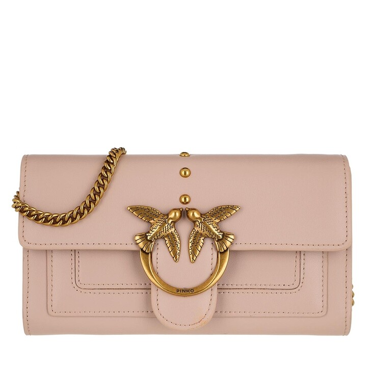Geldbörse, Pinko, Love Wallet Simply 3 C Rose Dust Pink