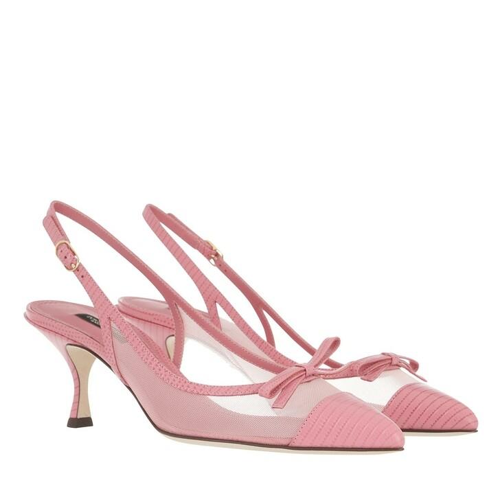 Schuh, Dolce&Gabbana, Lori Slingback Pumps Rose