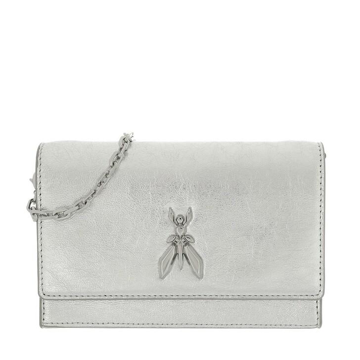 Handtasche, Patrizia Pepe, Crossbody Bag Silver