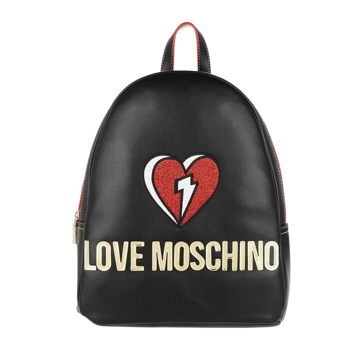 bags, Love Moschino, Bag Nero/Rosso