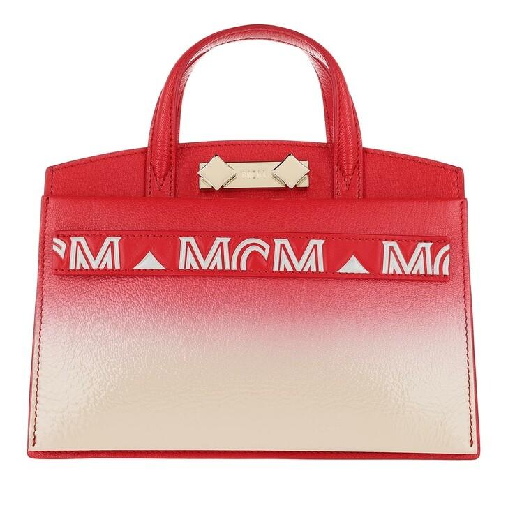 Handtasche, MCM, Milano Patent Tote Bag Mini String