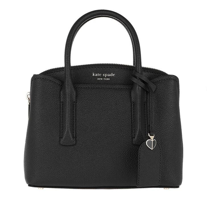 Handtasche, Kate Spade New York, Mini Satchel Bag Black